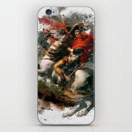 Napoleon Bonaparte Watercolor iPhone Skin