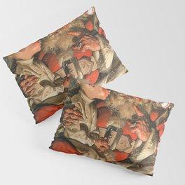 Joseph Christian Leyendecker - Christmas Eve - Digital Remastered Edition Pillow Sham