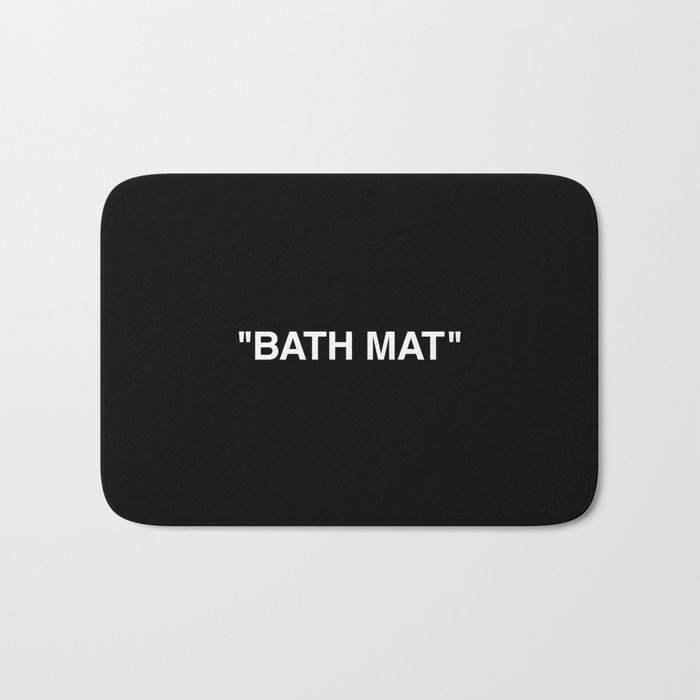 Bath Mat Off White Bath Mat