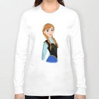 anna Long Sleeve T-shirts featuring ANNA by Lauren Lee Design's