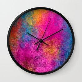 I Love Hue Madly Wall Clock