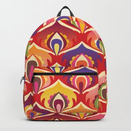 Flower power hippie floral Backpack