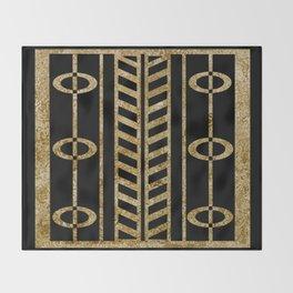 Art deco design II Throw Blanket