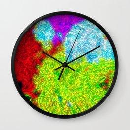 Seaweed Glow Wall Clock