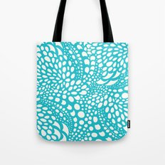 Octopus Dots: Bermuda Blue Tote Bag