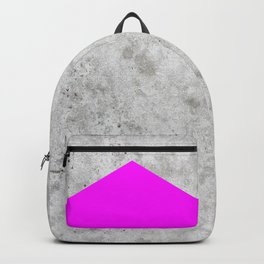 Concrete Arrow - Neon Purple #728 Backpack