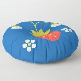 Fruit: Strawberry Floor Pillow