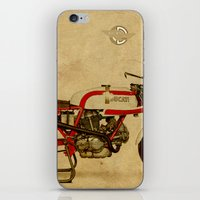 ducati iPhone & iPod Skins featuring Ducati 750SS Corsa 1974 by Larsson Stevensem