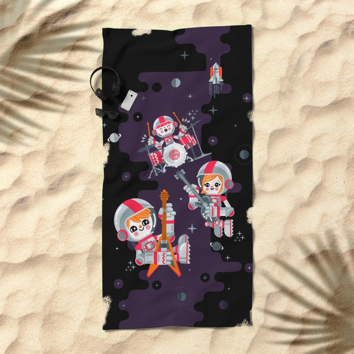 Space Rock Beach Towel