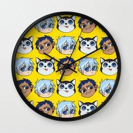 AoKuro family Wall Clock