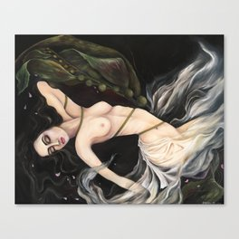 Entangled Mermaid Canvas Print