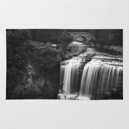 A river falls Rug