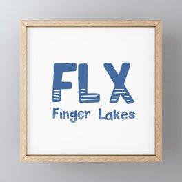 FLX Finger Lakes Framed Mini Art Print