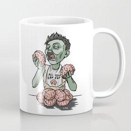 Zom-nom-nom-bie Coffee Mug