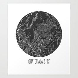 Guatemala City Art Print