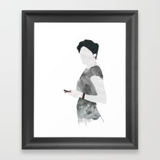 Irene Framed Art Print