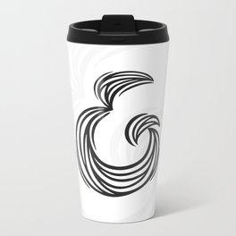 Ampersand Metal Travel Mug