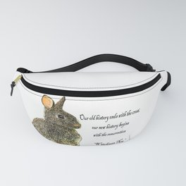 easter quotes desain 1 Fanny Pack