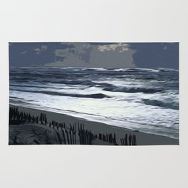 Long Island Quogues Beaches Rug