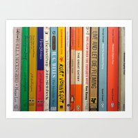 literature Art Prints featuring Literature by Vanessa Flores