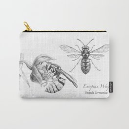 European Wasp, Vespula germanica  Carry-All Pouch