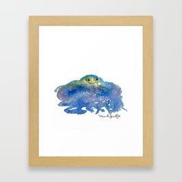 The Conspiring Universe Framed Art Print