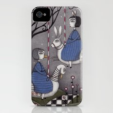 Merry-go-round iPhone (4, 4s) Slim Case