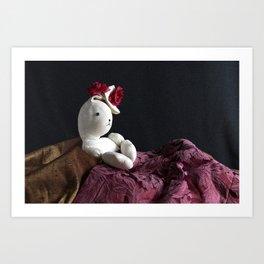 Bunny Muse Art Print
