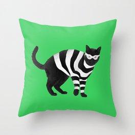 Cat Burglar, Master of Thieves Throw Pillow