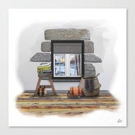 Winter Warm Up Canvas Print