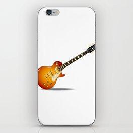 Cherry Sunburst Guitar iPhone Skin