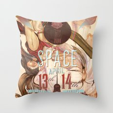 space (2013) Throw Pillow