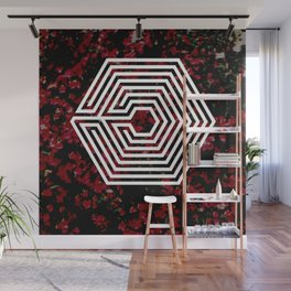 OVERDOSE floral Wall Mural