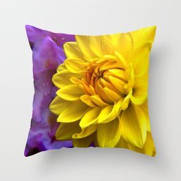 Floral Beauty #1 Throw Pillow