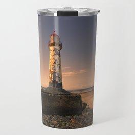 Talacre sunset Travel Mug