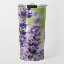 Lavender Flowers #1 #floral #art #society6 Travel Mug