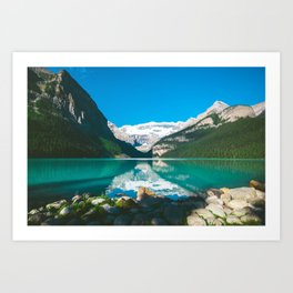 Lake Louise, Alberta Art Print