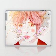 Colorful face Laptop & iPad Skin