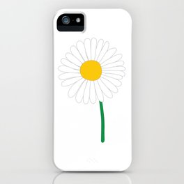 Daisy Illustration iPhone Case