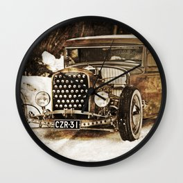 The Pixeleye - Special Edition Hot Rod Series IV Wall Clock