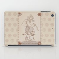 nori iPad Cases featuring Axes and Knives by BlueSparkle