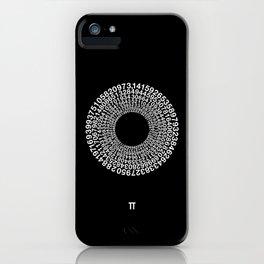 TRANSCENDENCE OF PI iPhone Case