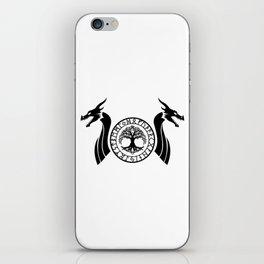 Norse Dragon - Yggdrasil iPhone Skin