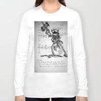 chemistry Long Sleeve T-shirts featuring Fuck Chemistry by Edgar Mothman Nunez