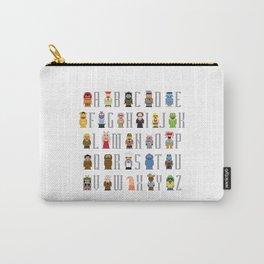 Pixel Muppet Show Alphabet Carry-All Pouch