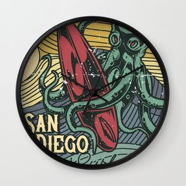 Catch the Wave Wall Clock