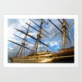 CUTTY SARK GREENWICH LONDON Art Print