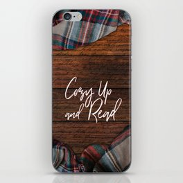 Cozy Up and Read iPhone Skin