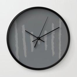 A #11 - Minimalistic (muted) Wall Clock