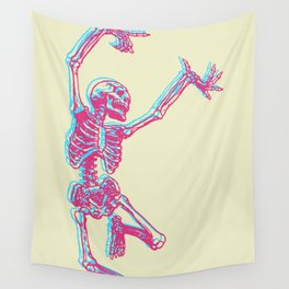 Dancing Bones Wall Tapestry